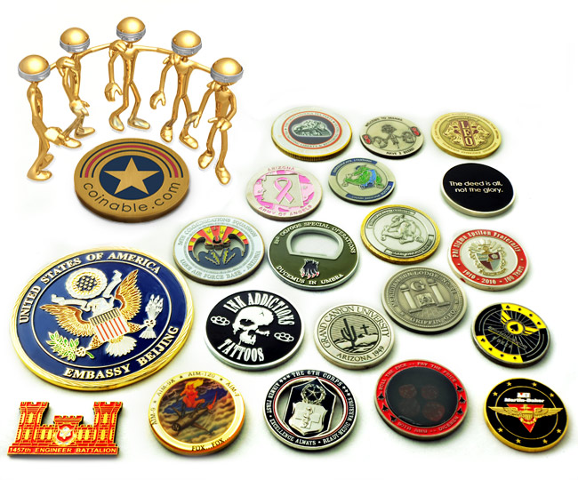 Custom Challenge Coins | Custom Coins | Custom Military Coins | Promotional Coins | Personalized Coins